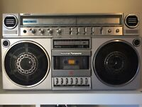 National Panasonic Ambience RX-5150 Cassette Recorder