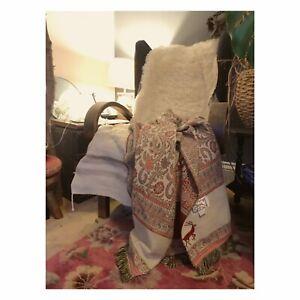 Abugazala Paisley Throw Boho Home Bedspread Blanket Scarf Tapestry Coverlet