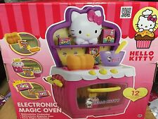 Hello Kitty Pretend Play Electronic Magic Oven*New* x-mas gift