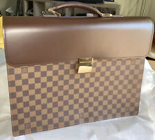 Louis Vuitton Serviette Altona Damier GM Leather Briefcase ✨MINT