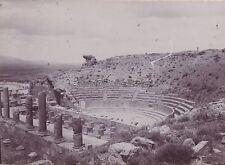 Maghreb Algérie Ruines Romaines Théâtre Vintage citrate ca 1900