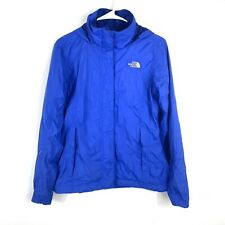 The North Face Womens Jacket Parka Blue Hooded Mesh Lined Small Petite 1821