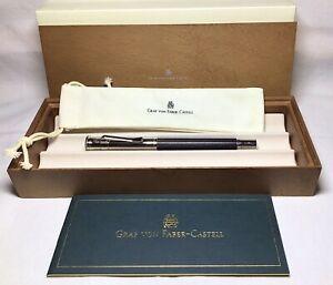 Graf Von Faber-Castell Classic Grenadilla Fountain Pen XF New In Box Product