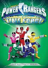 Power Rangers: Time Force - Comp Series - 5 DISC SET (2016, REGION 1 DVD New)