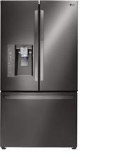 "New! LG LFXS30766D 36"" Black Stainless Steel French Door Refrigerator"