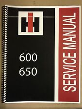 650 International Harvester Tractor Technical Service Shop Repair Manual Farmall