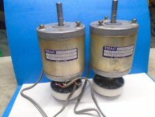 "TEAC X-700R X-1000R 2 REEL MOTORS EM1448 / 03300 8mm Or 5/16"" SHAFT USED"