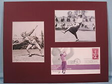 Babe Didrickson Zhararias wins Gold at '32 Olympics & '54 Open & First Day Cover