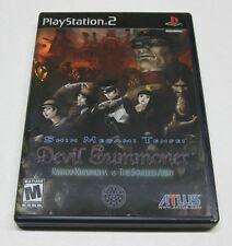 Shin Megami Tensei: Devil Summoner Raidou Kuzunoha vs... (Playstation 2, 2006)