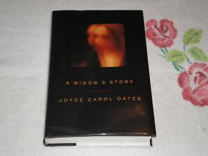 A Widow's Story by Joyce Carol Oates   *SIGNED*