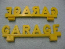 1 enseigne GARAGE pour jouet ancien station service voiture STARLUX 1/43 origine