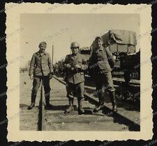 Gmina chybie-Poland-Slesia-Cieszyn - Reich Bahn-CARRO ARMATO SD. KFZ-STAZIONE FERROVIARIA-TRENO - 4