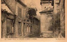 Guerre 1914 - Éclats d'obus à Arras