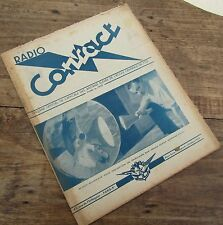 RADIO CONTACT N° 4 OCTOBRE 1949