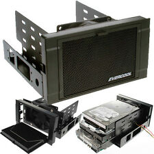 "Evercool HD-AR-BK ARMOR 2x 5.25"" Drive Bay to 3x 3.5 HDD 4x 2.5 HDD Cooling Box"