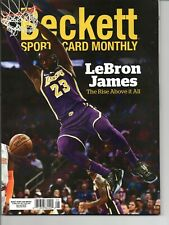 NEW Beckett Sports Card Monthly AUGUST 2020 LeBRON JAMES NO Shipping Label 🔥