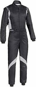 Sparco Superspeed RS-9 3 Layer FIA Approved Race Rally Suit Black Size 56
