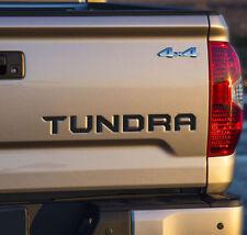 Toyota Tundra TRD 2014 2015 2016 2017 Rear Tailgate Letter Decal Sticker Vinyl i