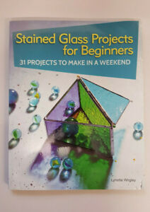 Stained Glass Projects for Beginners - Slight Damage To Cover