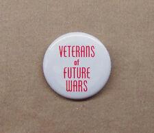 """Veterans of Future Wars 1.25"""" Button VFW Bonus Army WW1 Military Satire Repro"""