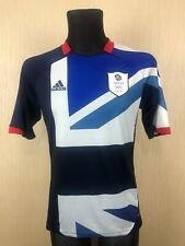 Great Britain Olympic Games London 2012 FOOTBALL SOCCER JERSEY ADIDAS SIZE S