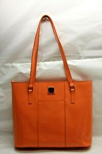 Dooney & Bourke Patent Leather Lexington Shopper CORAL RTL$248