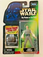 Star Wars Power of the Force POTF2 Freeze Frame Collection 1 Lobot .00 Blaster