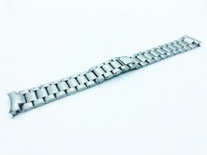 18mm Solid Stainless Steel Strap/Bracelet fit Omega SeaMaster Watch