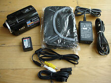 Sony HDR-XR160 (160 GB) 1920X1080 High Definition Camcorder SD Card AVCHD G Lens