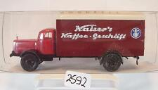 Brekina 1/87 44120 Mercedes Benz 4500 LKW Koffer Stabholz Kaiser´s Kaffee #2592