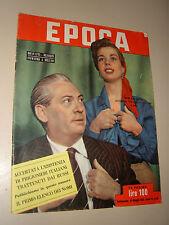 EPOCA=1952/86=ALFREDO PANZINI=PASQUALE ALECCE=ERICH VON STROHEIM=MODA SPIAGGIA