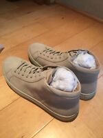 Kenneth Cole Reaction Design Suede Hi-Top Sneaker $135 NEW SIZE 10.5 $52 one day