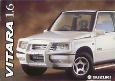 Suzuki Vitara 1.6 Soft Top Estate 1996 original UK Sales Brochure
