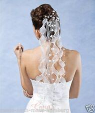 Braut Kopfschmuck Kommunion Haarschmuck Haargesteck Schleier z.Brautkleid