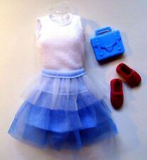 *Barbie Mattel Skipper Kleidung*Schwester*Tüllrock,Shirt,Tasche,Schuhe*