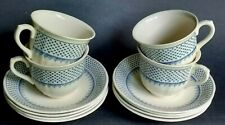 "EXCELLENT 12 Pc Lot MASON'S ""LOUISE"" Pattern 4 TEA CUPS & 8 SAUCERS Ironstone"