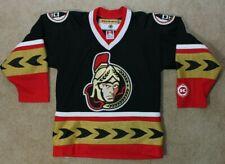 Koho Ottawa Senators Hockey Jersey Youth S/M Black Alternate Logo
