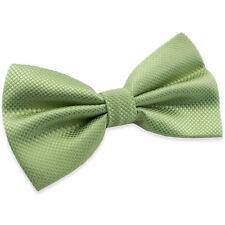 Noeud Papillon pour Homme ou Femme Vert en soie mélangée  Silk Green men Bow tie