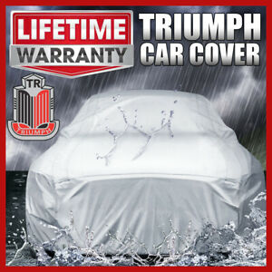 TRIUMPH [OUTDOOR] CAR COVER ☑️ All Weather ☑️ Waterproof ☑️ Warranty ✔CUSTOM✔FIT