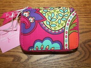 NWT Vera Bradley TRAVEL PILL CASE medicine ID  7 day week box for tote backpack