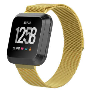 For Fitbit Versa 2 /Versa Lite Stainless Steel Watch Band Milanese Loop Strap