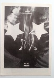 BIG STAR 3rd Album 1978 magazine ADVERT/Poster/clipping 11x8 inches