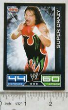 2008 Super Crazy, Topps Slam Attax ECW card