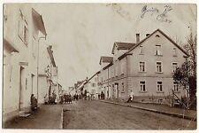 KISSLEGG im Allgäu / Belebte Straße * Foto-AK um 1905