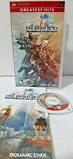 Final Fantasy Tactics: The War of the Lions (Sony PSP, 2007) - Greatest Hits