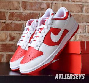 Nike Dunk Low Retro Championship Red White DD1391-600