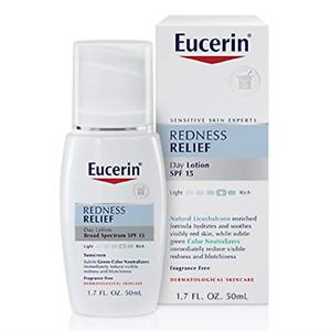 Eucerin Redness Relief Day Lotion - Broad Spectrum SPF 15 - Neutralizes Redness