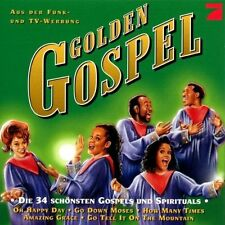 Golden Gospel Orig. USA Gospel Choir, Louis Armstrong, Mahalia Jackson,.. [2 CD]
