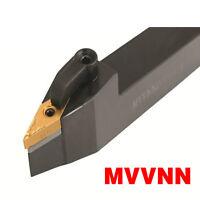 MVVNN 2525M16 25×150mm Index External Lathe Turning Holder For VNMG1604 inserts