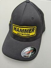 Hammer Nutrition FlexFit cap/hat S/M sponsored athlete swim bike run triathlon